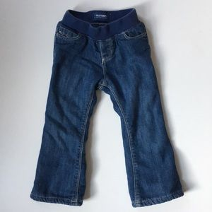 Old Navy Fleece Lined Toddler Jeans